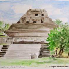 """El Castillo at Xunantunich"""
