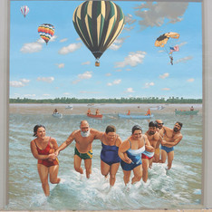 """Paducah Summer Festival - Swimmers"""