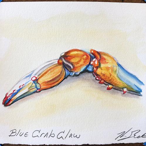 """""""Blue Crab Claw"""""""