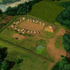 """""""Mound at Fort Toulouse - Fort Jackson"""""""