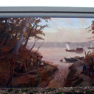 """Lewis & Clark Mural"""