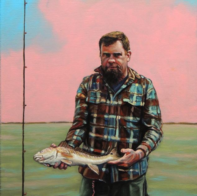 """Catching redfish in the Gulf"""