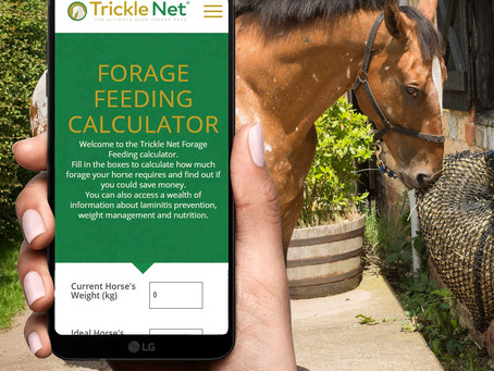 Trickle Net launch free online forage calculator
