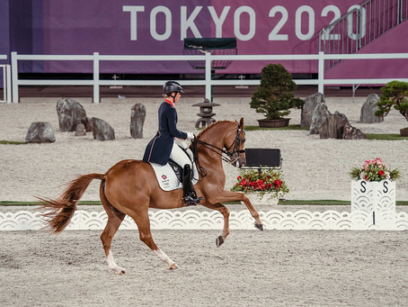 Olympics 2020 – how are the horses keeping cool?