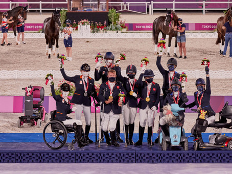 Para Dressage Gold for awesome Team GB