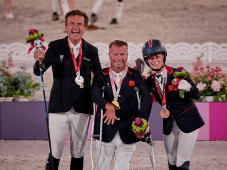 Sir Lee Pearson, the world's most decorated equestrian Paralympian, does it again…