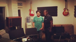 Another successful  day At The Compound Recording Studio with Lynn Slack