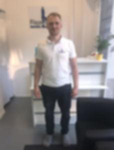 Mateusz Baran Fizjoterapeuta Terapeuta Manualny Centrum Rehabilitacji Fizjo-Orth Rehabilitacja Warszawa Bielany