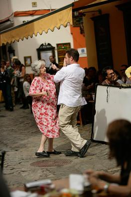 Norbert dancing