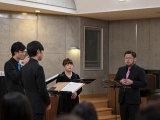 Ensemble Salicus演奏会|終演