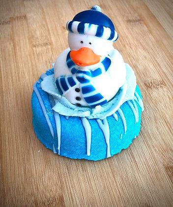 Snowman Bubble Bomb