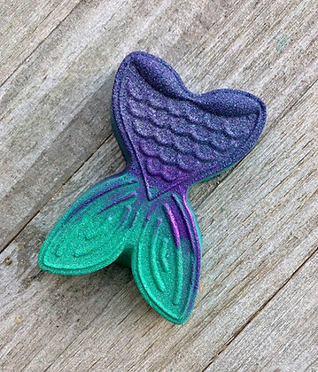 Blue Hawaiian Mermaid Tail Bath Bomb