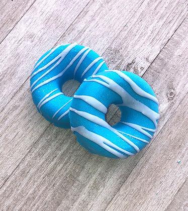 Blueberry Cobbler Donut Bath Bomb