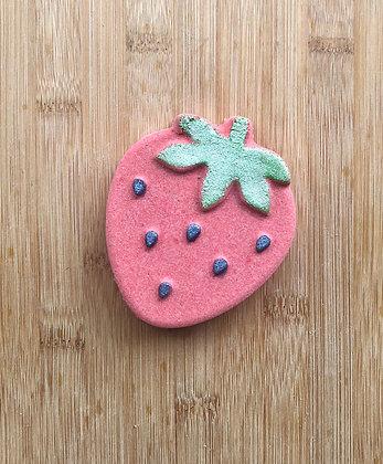 Strawberries & Cream Fizzy Bath Bomb