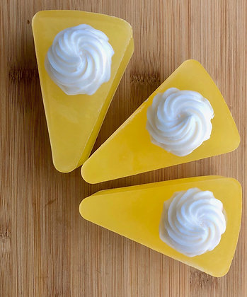Lemon Cake Goat Milk Soap