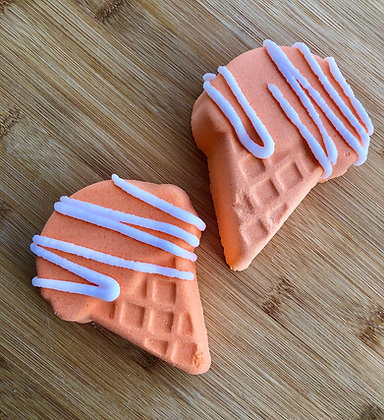 Orange Sherbet Bath Bomb
