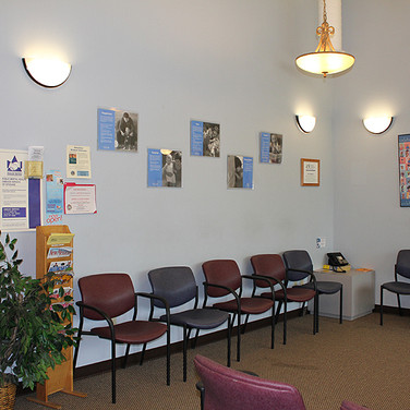 Waiting Room Wall Redesign - Before