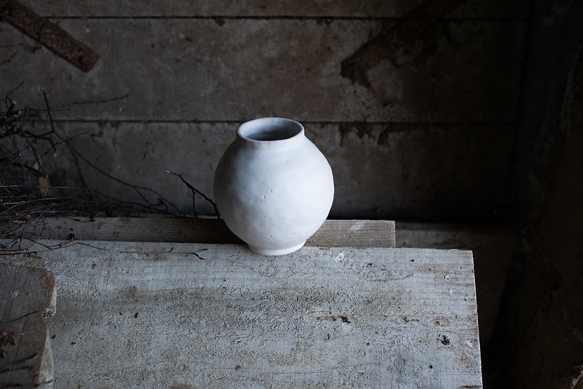Vase rond / Pièce unique