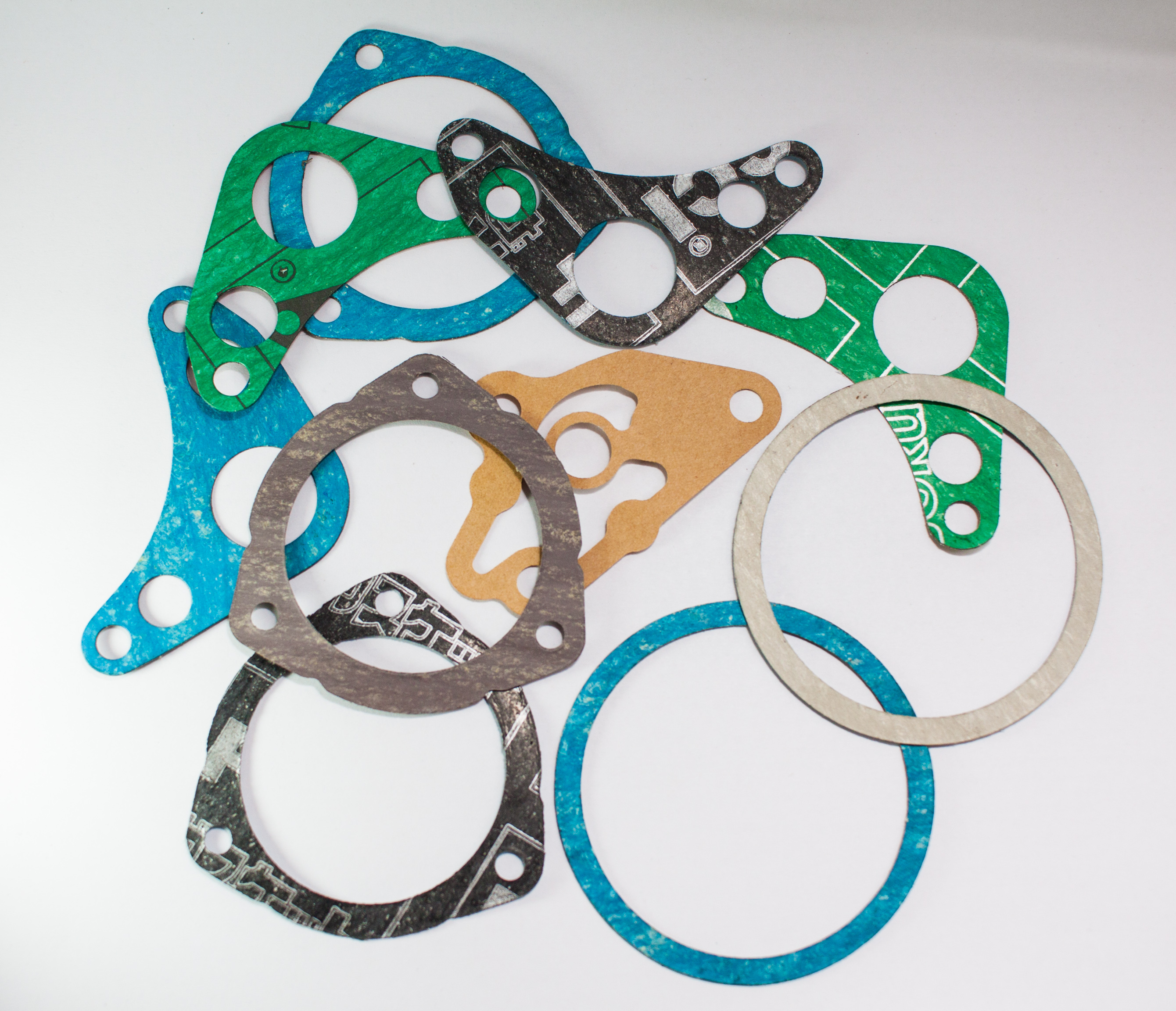 Part of motorcycle gaskets