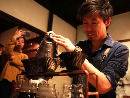 ゲストバリスタ Yasu Nakamura 『Winter Coffee Gig』12/17