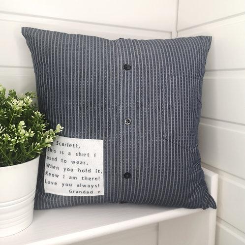 Keepsake Clothing Cushion