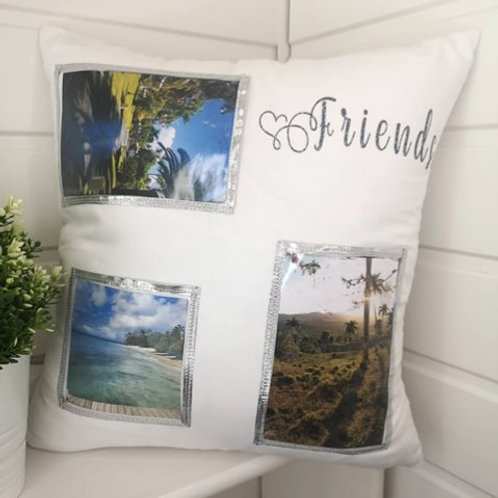 Interchangeable Friends Picture Cushion