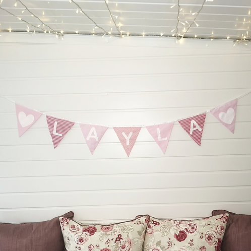 Personalised Bunting - Patterned