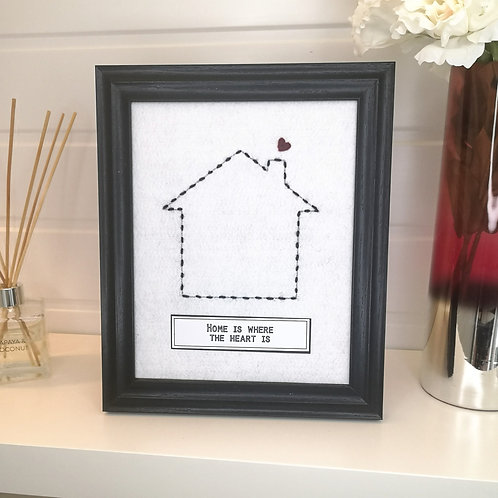 Hand Embroidered Gift Frame