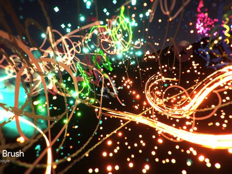 Tilt Brush is our immersive artistic experience