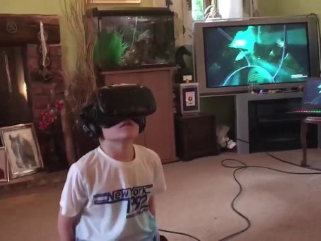 Favourite moments from Toby's 11th Virtual Reality birthday party ✨