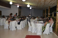 Salão de festa externo