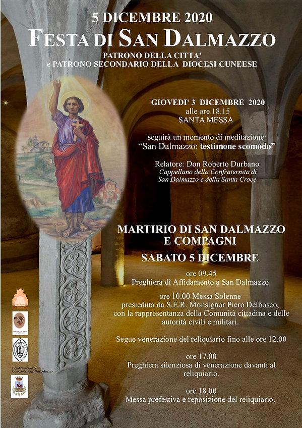 Manifesto Festa patronale San Dalmazzo 2