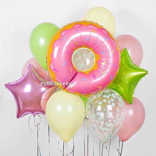 Набор шаров №44 Сладкий пончик