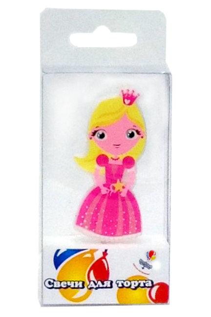 Свеча Принцесса 1шт