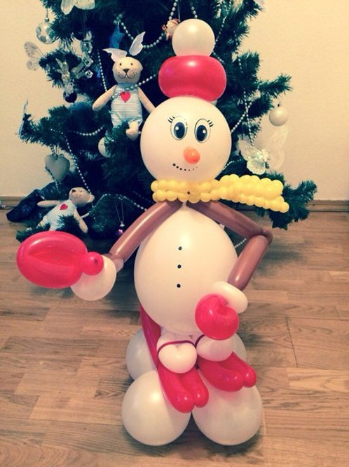 Снеговик маленький №3