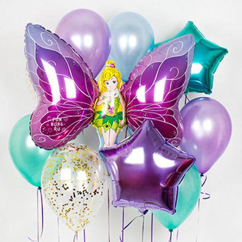 Набор шаров №28 Фея-бабочка