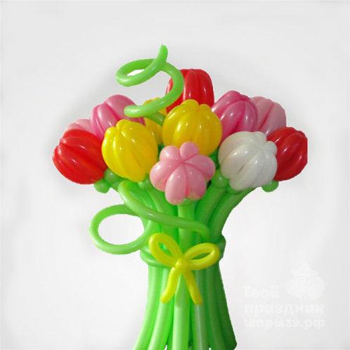 Букет тюльпанов №4 (15штук)