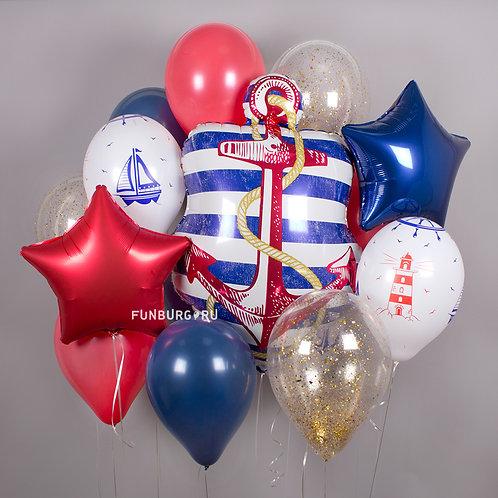 Набор шаров №35 Морской