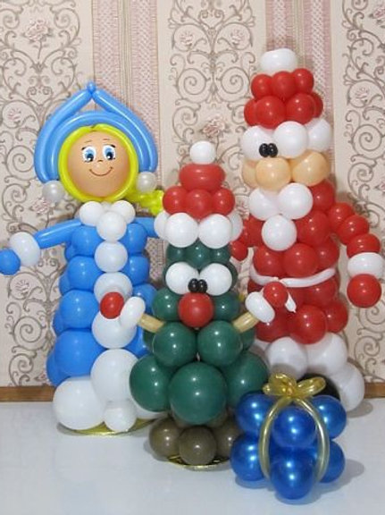 Новогодняя семья