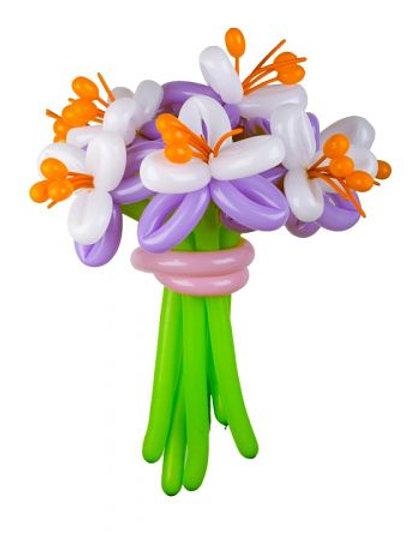Букет цветов №9 лилии