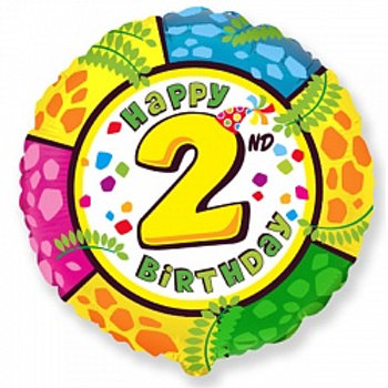 Цифра Happy Birthday   от 0 до 9 серебро