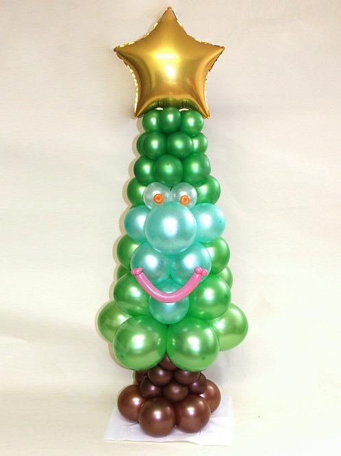 Новогодняя зеленая Ёлка №5
