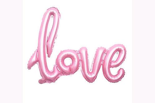 Надпись LOVE прописная