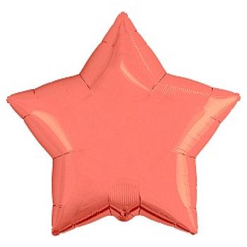 Звезда коралловый сатин подарки доставка Монино