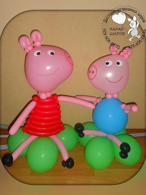 Свинки Пеппа и Джордж