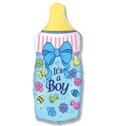 Шар  Бутылочка для мальчика
