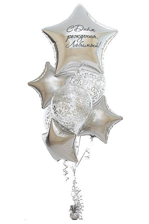 красивые композиции и подарки из воздушных шаров с доставкой в города Ногинск, Электросталь, Павловский Посад, Кудиново