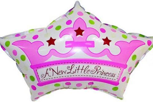 Шар КОРОНА для принцессы