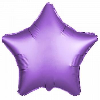 Звезда фиолетовый сатин доставка Балашиха