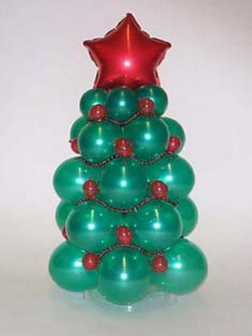Новогодняя зеленая Ёлка №4